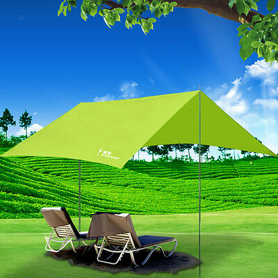Portable Outdoor Camping Sun Shade Beach Tent Cushion Canopy Shelter Picnic Pad