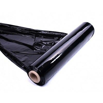 1x QUALITY BLACK PALLET STRETCH WRAP 400mm 250m strong quality