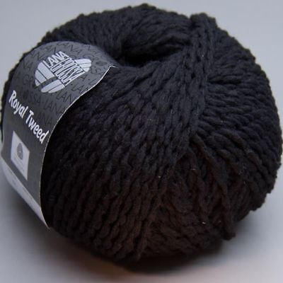 Set 10x Lana Grossa Royal Tweed 020  50g  = 500g Wolle