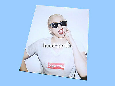 SUPREME LADY GAGA Box Logo Tee Shirt Poster [ poster only, without frame ]