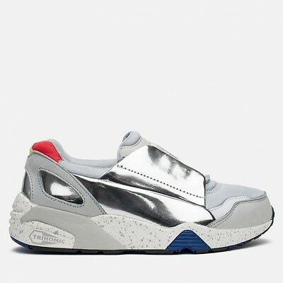 Puma X Alexander McQueen Womens MCQ Lace Disc Gray Trainers 359352 01 UK Sizes