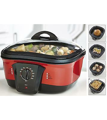 Red Giani 8-in-1 Multi-Cooker