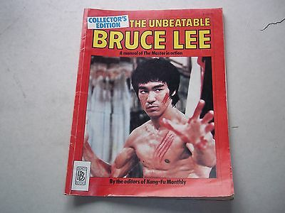 The Unbeatable Bruce Lee By The Editors Of Kung Fu Monthly
