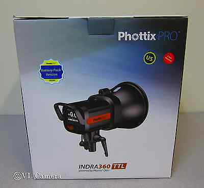Phottix Indra360 TTL Studio Light and Battery Pack Kit - Photographic Equipment