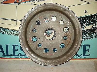 Crankshaft Pulley, Used 3755820 BC. 55-68 Chevy, Chevelle, Camaro, Corvette