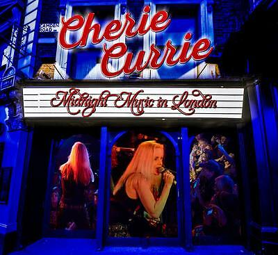 The Runaways Singer Cherie Currie NEW Midnight Music In London CD IN HAND NOW