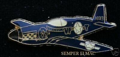 P-51 Mustang Hat Lapel Pin Up Us Army Air Corps Ww 2 Pilot Crew Wing Gift Wow