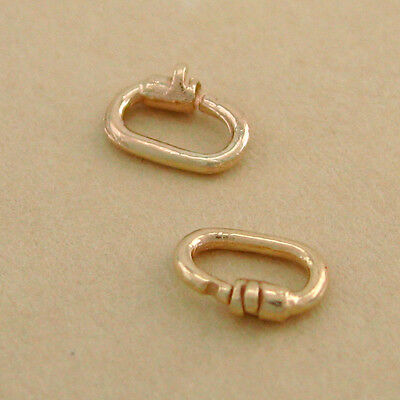 Genuine 9CT Solid Yellow Gold Link Lock Aust Made