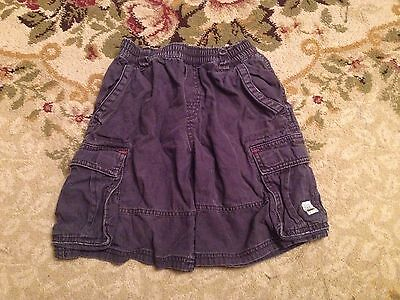 The Childrens Place Boys Cargo Shorts Navy Blue Size 8&6