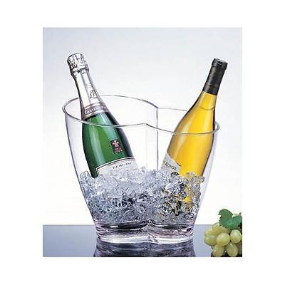 Acrylic Vino-Duo Two Bottle Wine Chiller - AB-22