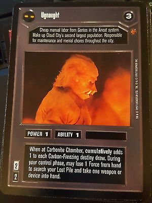 Star Wars CCG Cloud City Wookiee Strangle NrMint-MINT SWCCG