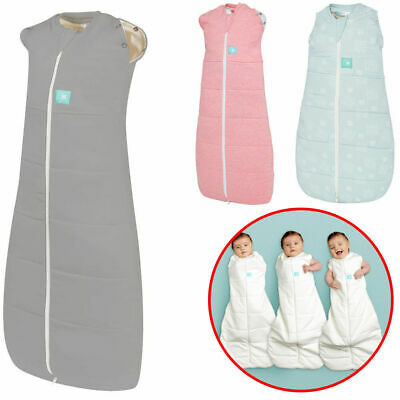 Ergo Baby Swaddle Sleeping Bag Sleep Wrap Cocoon Blanket Zip Newborn 0-3m 2.5TOG