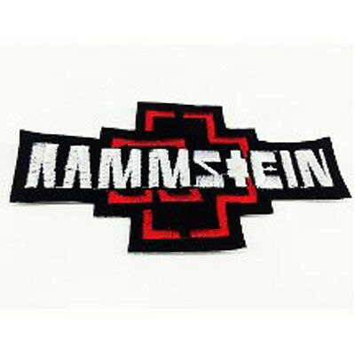 RAMMSTEIN Embroidered Iron On or Sew On Patch UK SELLER Patches