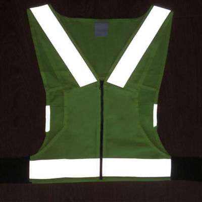 Night Cycling Running Jogging Reflective Safety Vest Outdoor Sports Waistcoat