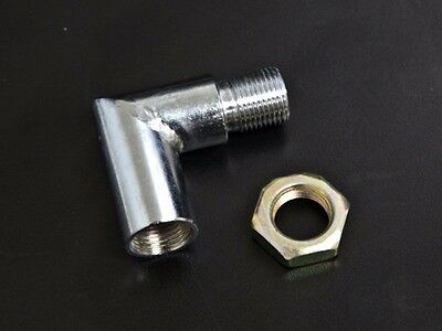 90 Degree O2 Oxygen Sensor Spacer Extension Exhaust Bung 02 m18 x 1.5