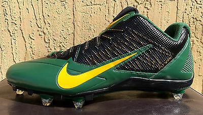 Nike Vapor Untouchable Pro Football Cleats Size 13 White Green ...