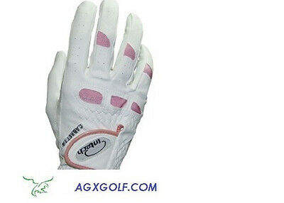 12 Pack Of Ladies Intech Cabretta Leather Golf Gloves: For Right Hand Golfers