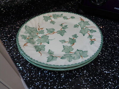 Bhs Country Vine Salad Plates X 3