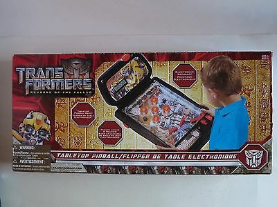 Transformers Revenge of the Fallen Electronic Table Top Pinball Machine