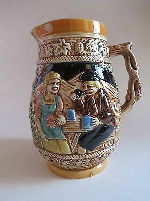 Vintage Japan Pottery Pitcher Beer Stein Style