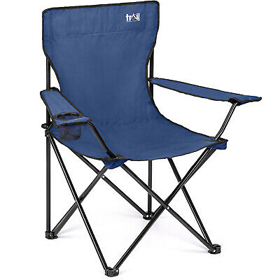 Folding Camping Chair Lightweight Portable Festival Fishing Chairs With Bag
