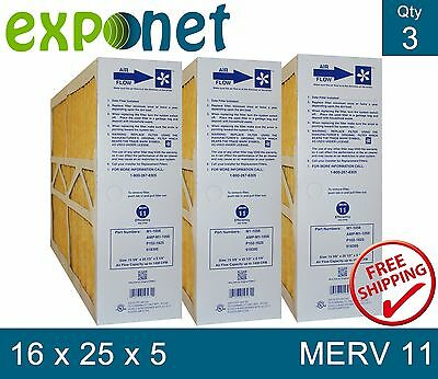 M1-1056 Genuine Merv 11 16X25X5 Goodman,electro-Air,five Seasons,carrier Filter