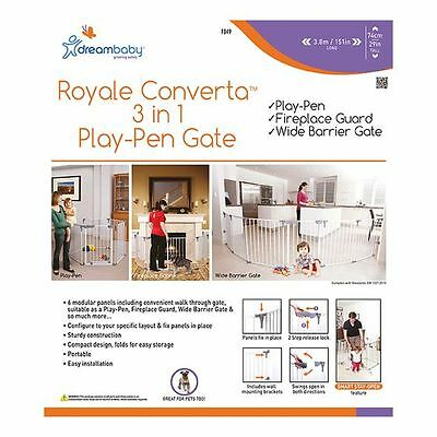 NEW Dreambaby Royal Converta 3-in-1 Play Pen