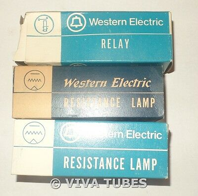 NOS NIB Western Electric Resistance Lamp Ballast Relay Tubes Many Avail - CHOICE