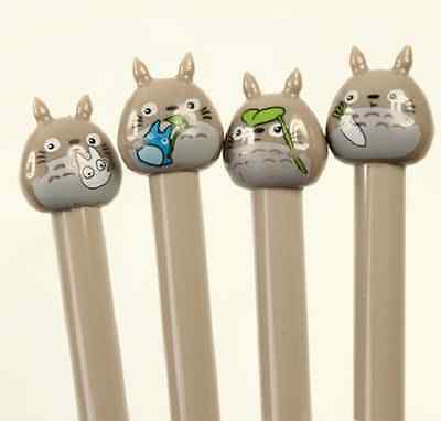 Totoro Cartoon Gel Pen Pencil Case Stationery Manga Anime Kawaii Studio Ghibli
