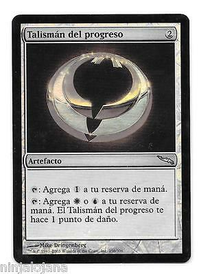TALISMAN DEL PROGRESO FOIL ! de Mirrodin - MTG Progress NM Español Magic