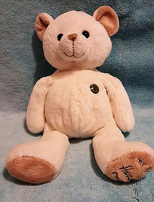 "My First Harrods Soft Teddy Bear Cream 14"" Knightsbridge London & Free Gift"
