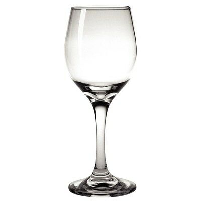 BULK 48 x Toughened Wine Stemmed Glass 245ml Olympia Restaurant Catering Quality