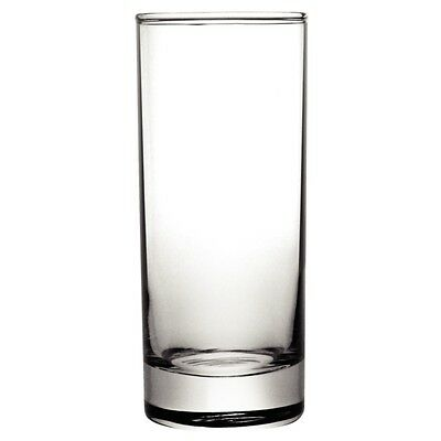 BULK 48 x Toughened Hiball Juice Water Glass 340ml Olympia Bar Cafe Restaurant