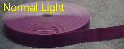 50-yard Purple gloss sew on REFLECTIVE TAPE PVC 1""