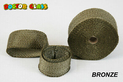 Doctor Glass - Exhaust Header Wrap - BRONZE