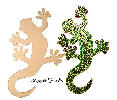 Gecko - Wooden Cut-out 580x350mm