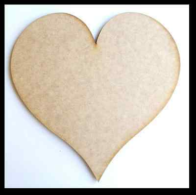 Heart - Wooden Cut-out