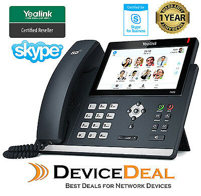 Yealink SIP-T48S SFB Skype for Business Edition 6 Line IP Phone