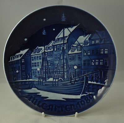 "Bing & Grondahl ""Christmas Anchorage"" 1989 Christmas Plaque with hanger"