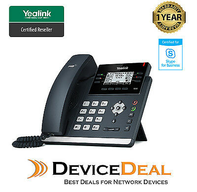 Yealink T42S Skype for Business 12 Line SIP telephone SIP-T42S-SFB