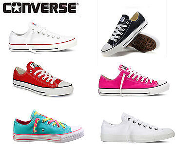 Shoes Converse All - Star Classic Chuck Taylor Womens Size Low Top