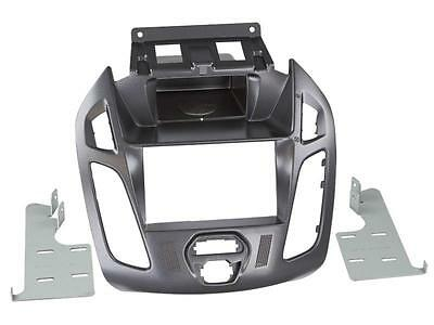 Radioeinbauset Doppel DIN Ford Transit Tourneo Connect grau ohne Display