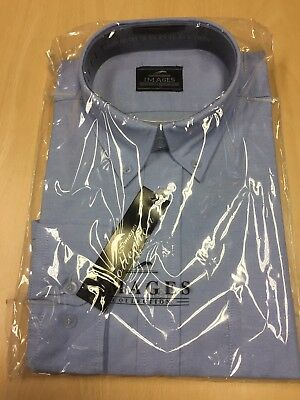BRAND NEW With Tags Light Blue Oxford Shirt Long Sleeve