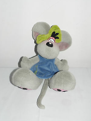 """"""" Diddl """" Peluche Grise Diddlina Taille 25 Cm"""
