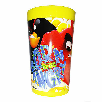 Angry Birds - Bicchiere Melamina Giallo 28 Cl (Born To Be Angry Film)
