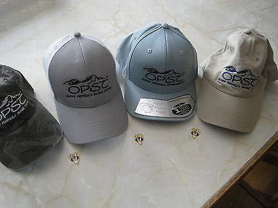 OPST Logo Fishing Caps 3 Style Options One size Fits all