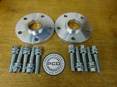 VW T5/T6 Transporter Hubcentric Spacers 5x120 15mm & 10 BOLTS ORIGINAL 1 Pair