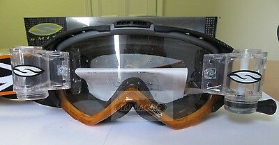Smith Intake Goggles Racer Pack Roll Off System Orange Black *****sale*****