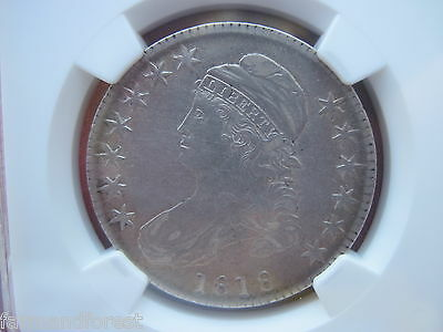 1818 Capped Bust Half Dollar, NGC XF Details, Overton 107