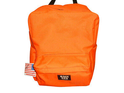 backpack emergency orange bag,search&rescue backpack,trauma bag made in U.S.A.